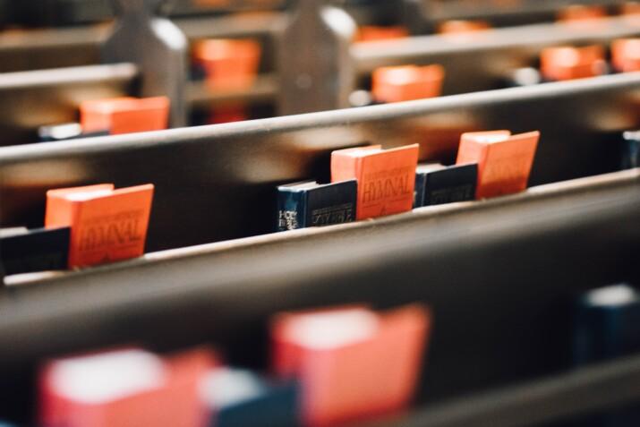 scripture in pew rack